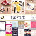 Park Lane 36 pk 12\u0027\u0027x12\u0027\u0027 Double sided Premium Printed Cardstock Stack-Tag