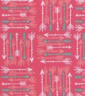 Snuggle Flannel Fabric 42\u0022-Arrows