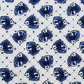 Harry Potter Cotton Fabric -Ravenclaw Crest