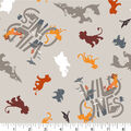 Disney Lion Guard Cotton Fabric -Wild Ones