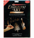 Foil Engraving Art Blank Boards 8\u0022X10\u0022-Copper