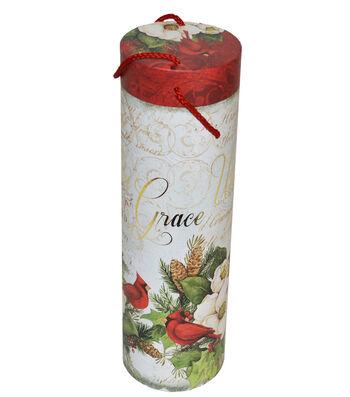 Christmas Wine Storage Tube-Winter Birds