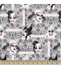Disney Villains Print Fabric