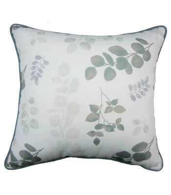 In the Garden 18''x18'' Pillow-Greenery All Over