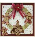 Tonic Studios Christmas Rococo Plus 6 pk Dies-Gingerbread Family Trio