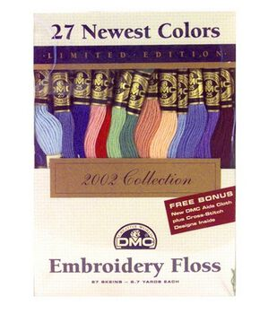 DMC Embroidery Floss Pack-27 New Colors