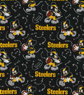 Pittsburgh Steelers Cotton Fabric-Mickey
