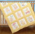 Stamped White Nursery Quilt Blocks 9\u0022X9\u0022 12/Pkg-Baby Ducks