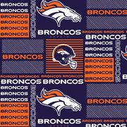 Denver Broncos Cotton Fabric 58''-Patch, , hi-res