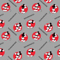 Disney Mickey Mouse Print Fabric by Springs Creative-Badge Toss
