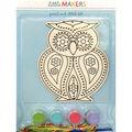 Little Makers Paint Stitch Kit-Owl