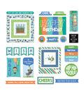 Birthday Boy Wishes Ephemera Cardstock Die-Cuts 26/Pkg