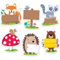6in Woodland Friend Designer Cutout 36/pk, Set of 3 Packs