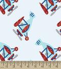 Tiny Planes Print Fabric