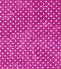Keepsake Calico Cotton Fabric-Dot Texture Fuchsia