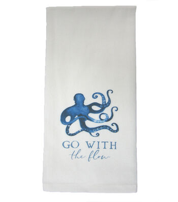 Indigo Mist Go with the Flow Towel