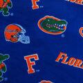 University of Florida Gators Fleece Fabric -All Over Blue