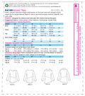 Kwik Sew Pattern K4189 Misses\u0027 Diagonal Waist-Seam Tops-Size XS-S-M-L-XL
