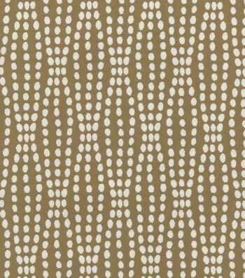 "Waverly Upholstery Fabric 54""-Strands Mocha"