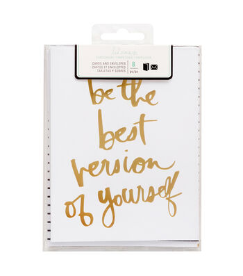 Heidi Swapp Stationery A2 Be The Best