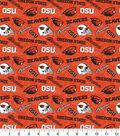 Oregon State University Beavers Cotton Fabric-Tone on Tone