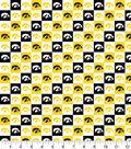 University of Iowa Hawkeyes Cotton Fabric-Collegiate Checks