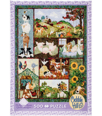"Jigsaw Puzzle 500 Pieces 24""X18""-Back On The Farm"