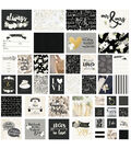 Simple Stories Always & Forever 48 pk Sn@p! Cards with Gold Foil Accents