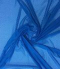 Loungeletics Performance Sport Mesh Knit Fabric-Blue