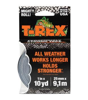 """T-Rex Tape 1""""x10yd-Black"""