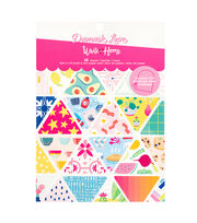 "American Crafts Damask Love 6""x6"" Paper Pad-Write Home, , hi-res"