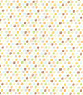 Nursery Cotton Fabric -Safari Small Dot