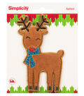 Simplicity Applique-Christmas Reindeer