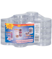 Darice Bead Caddy Box Value Pack Round, , hi-res