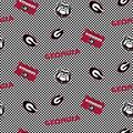 College Teams Georgia Bulldogs Cotton Fabric -Logo Checker