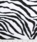 Anti-Pill Fleece Fabric -Zebra