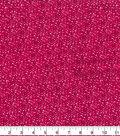 Quilter\u0027s Flannel Fabric-Pink Mum Bursts