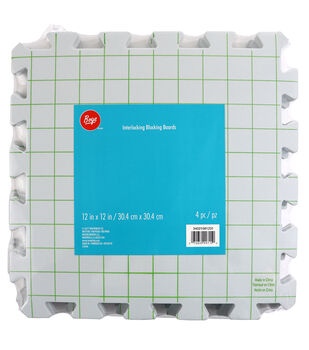 Boye 4 pk 12''x12'' Interlocking Blocking Boards