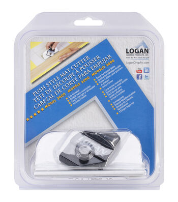 Logan Push-Style Bevel Mat Cutter