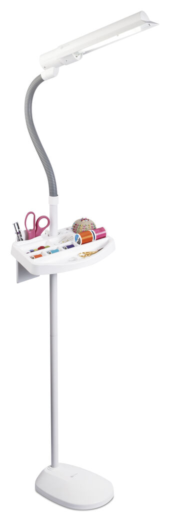 18w Sewing Floor Lamp With Accesory Tray