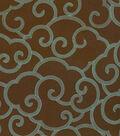 Home Decor 8\u0022x8\u0022 Fabric Swatch-Waverly Clouded/Bronze