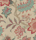 Waverly Upholstery 8x8 Fabric Swatch-Jacobean Flair/Vintage