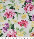 Premium Cotton Fabric -Large Floral