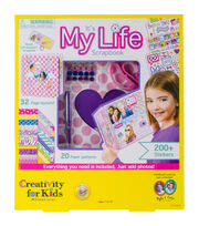 Creativity for Kids Kit-It's My Life Scrapbook, , hi-res