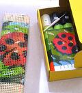 Euro Craft Latch Hook Kit 12\u0022X12\u0022-Lady Beetle