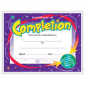 Certificate of Completion Colorful Classics Certificates, 30 Per Pack