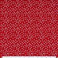 Keepsake Calico Cotton Fabric -Irregular Dots on Lipstick