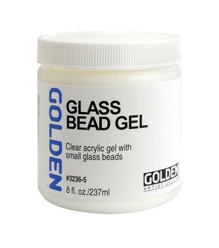 Golden Artist Colors 8 fl. oz. Glass Bead Gel