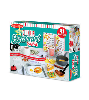 Melissa & Doug Star Diner Restaurant Playset