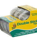 Duck 3 pk 0.5\u0027\u0027x250\u0027\u0027 Double Stick Tapes in Dispenser